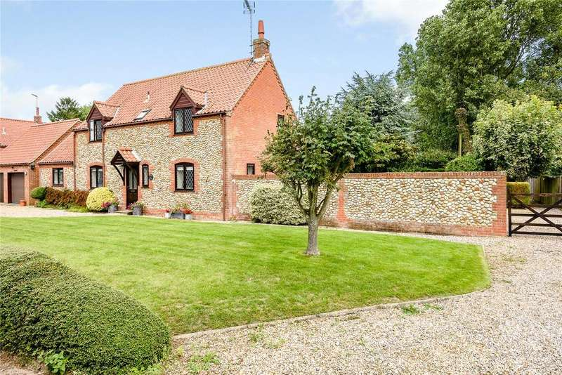 4 Bedrooms Detached House for sale in Thornage Road, Sharrington, Melton Constable, Norfolk, NR24