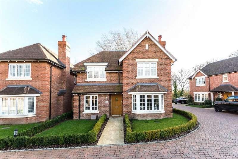 4 Bedrooms Detached House for sale in Homelands, North Street, Winkfield, Windsor, SL4
