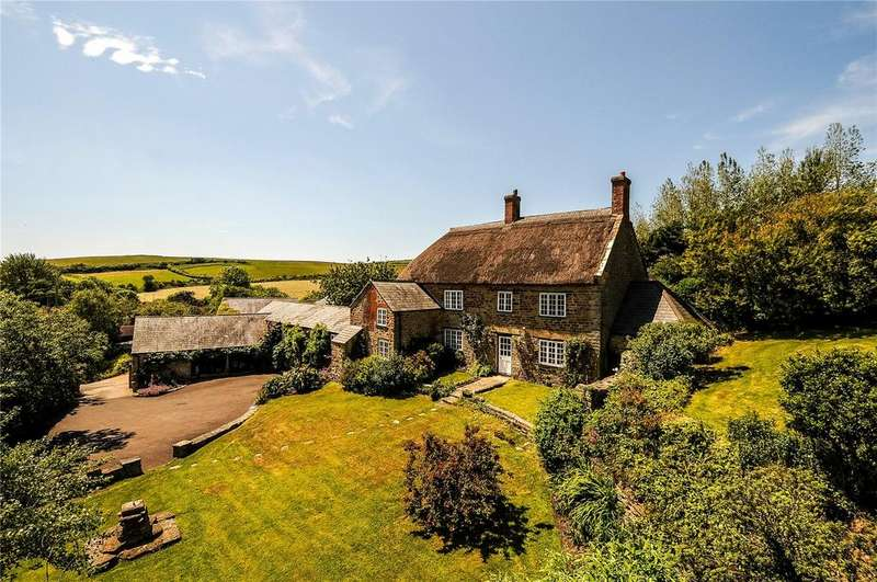4 Bedrooms Detached House for sale in Eype, Bridport, Dorset, DT6