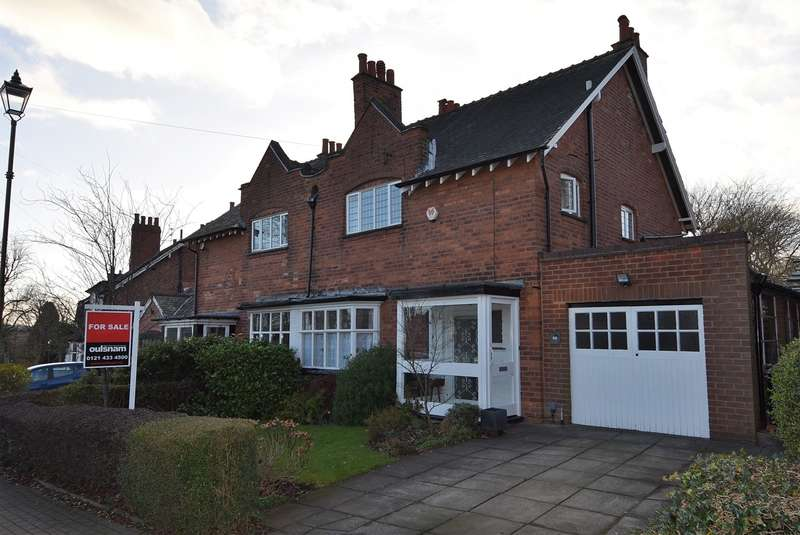 3 Bedrooms Semi Detached House for sale in Willow Road, Bournville, Birmingham, B30