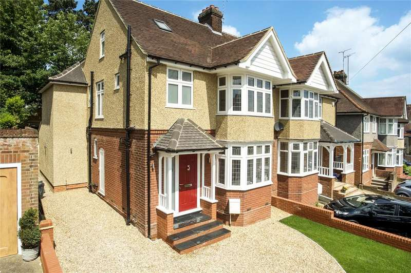 4 Bedrooms Semi Detached House for sale in Cutenhoe Road, Luton, Bedfordshire, LU1