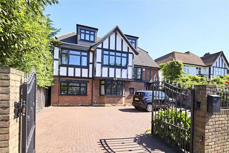 5 Bedrooms Detached House for sale in Coombe Lane, West Wimbledon, Surrey, SW20