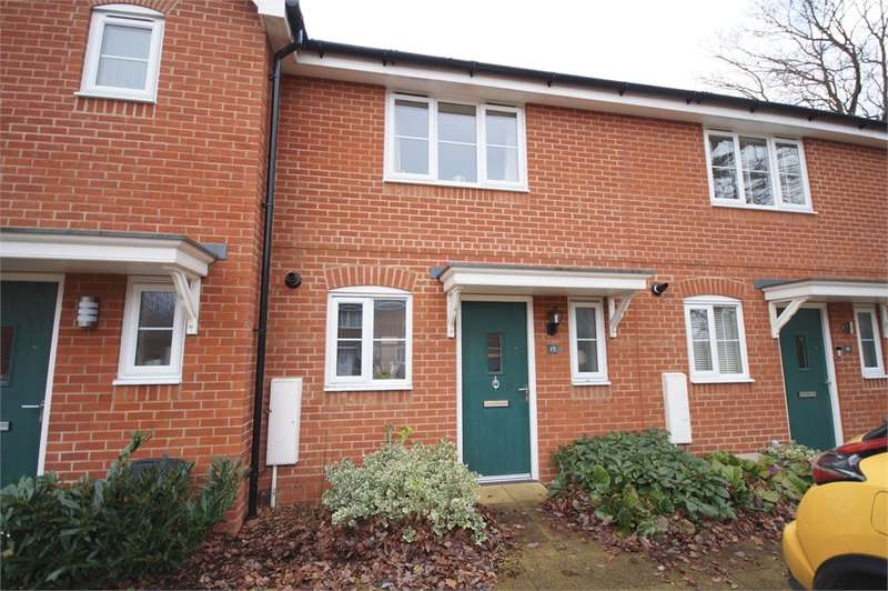 2 Bedrooms Terraced House for sale in Roe Gardens, Three Mile Cross, READING, Berkshire