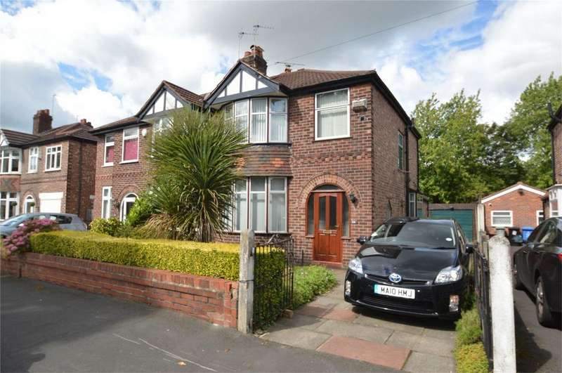 4 Bedrooms Semi Detached House for sale in Briarlands Avenue, SALE, Cheshire