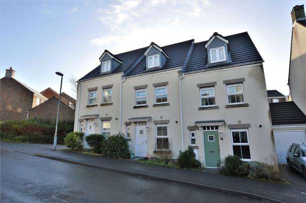 3 Bedrooms Terraced House for sale in Broad Park, Okehampton, Devon