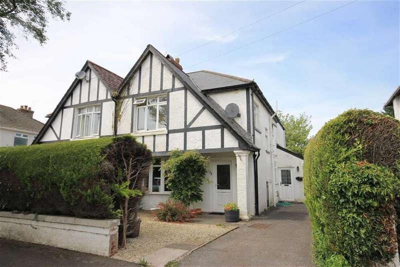 4 Bedrooms Semi Detached House for sale in Brynteg Avenue, Bridgend, Vale Of Glamorgan