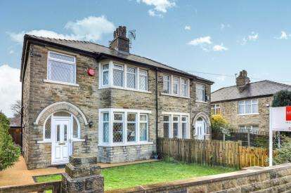 3 Bedrooms Semi Detached House for sale in Savile Drive, Halifax, West Yorkshire
