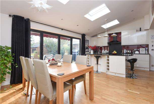 4 Bedrooms Semi Detached House for sale in Baker Lane, MITCHAM, Surrey, CR4