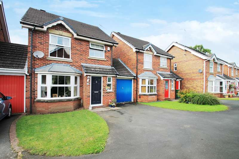 3 Bedrooms Link Detached House for sale in Reynard Close, Redditch, B97 6PY