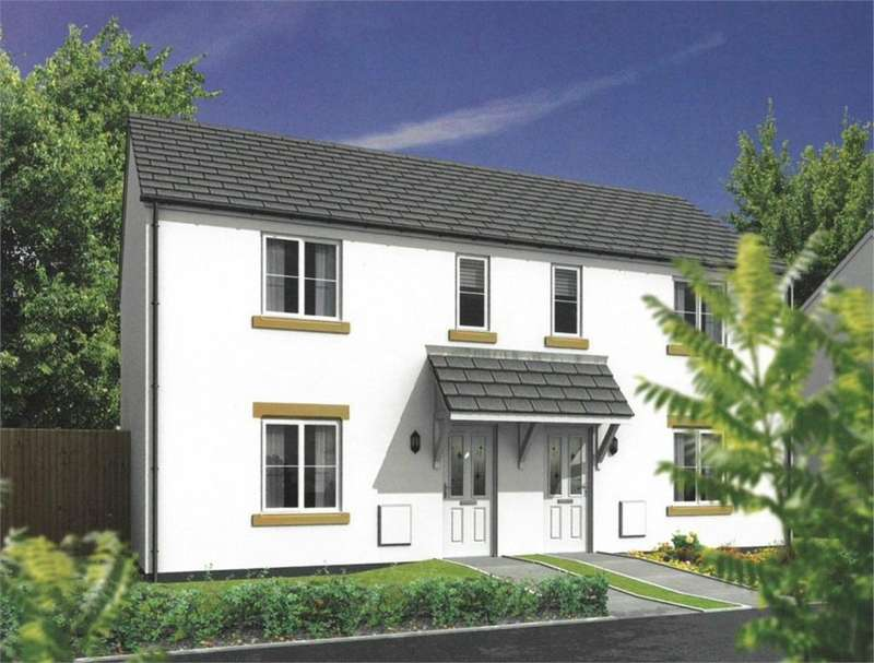 2 Bedrooms Terraced House for sale in Hill Top Crescent, The Mount, Par