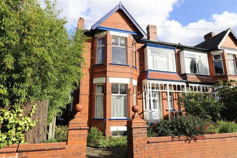 4 Bedrooms Semi Detached House for sale in Ellesmere Road South, Chorlton, Manchester, M21