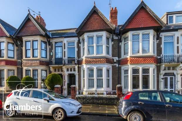 4 Bedrooms Terraced House for sale in Hendy Street, Roath, Cardiff, CF23