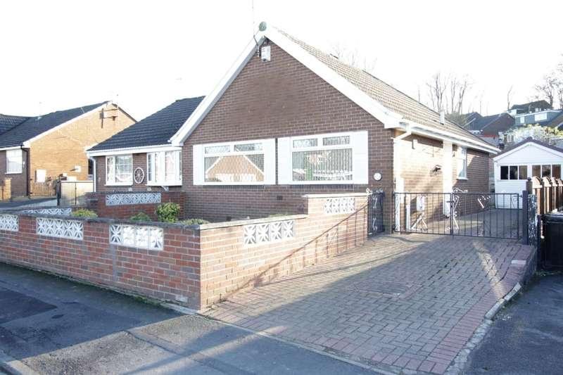 2 Bedrooms Semi Detached Bungalow for sale in Ebor Mount, Kippax, Leeds, LS25