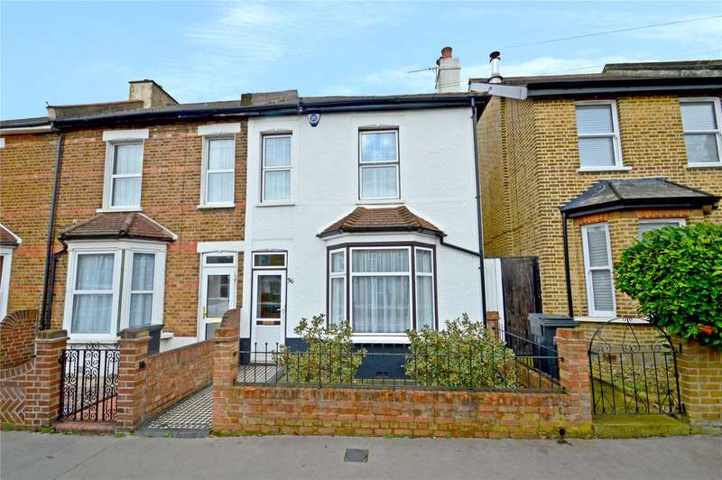 2 Bedrooms End Of Terrace House for sale in Nicholson Road, Croydon