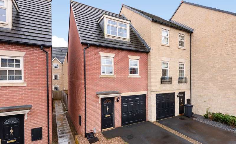 3 Bedrooms End Of Terrace House for sale in Silver Cross Way, Guiseley, Leeds, LS20 8FG