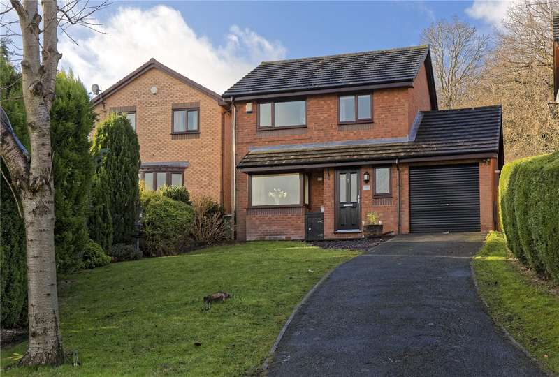 3 Bedrooms Detached House for sale in Horton Close, Rodley, Leeds, West Yorkshire, LS13