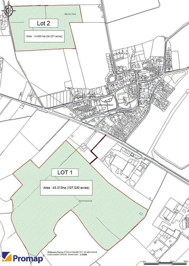 Land Commercial for sale in Agricultural Land,, Barmby Moor, York