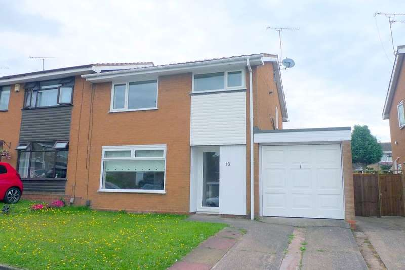 3 Bedrooms Semi Detached House for rent in Heronswood, Stafford, ST17