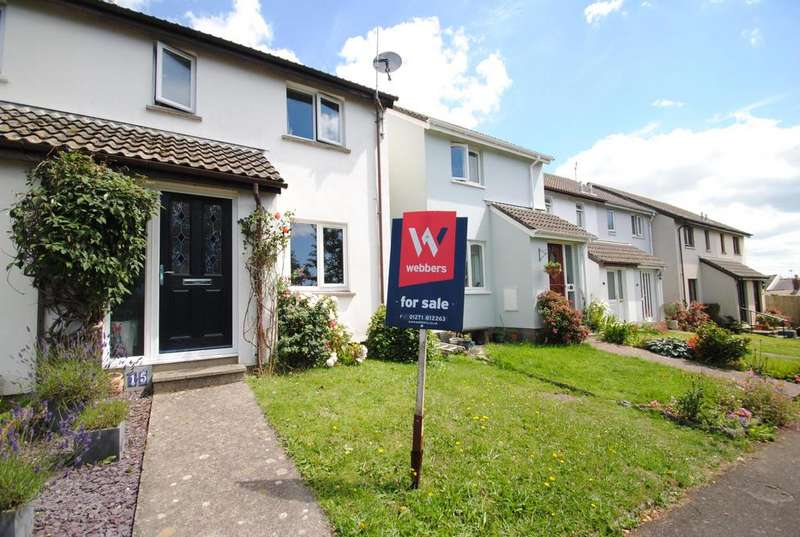 3 Bedrooms Terraced House for sale in Dyers Close, Braunton