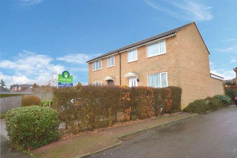 3 Bedrooms Semi Detached House for sale in Ashley Park Close, Tunbridge Wells, TN4