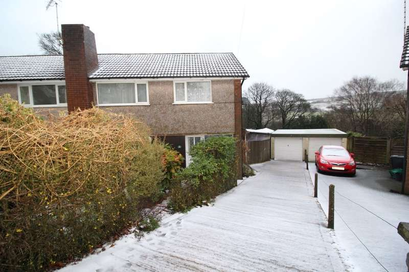 3 Bedrooms Semi Detached House for sale in Brockwell Gardens, Sowerby Bridge, HX6