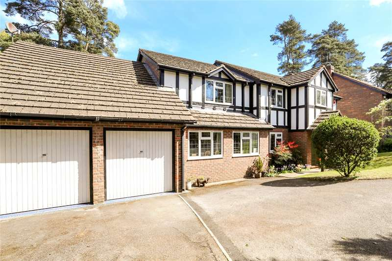 5 Bedrooms Detached House for sale in West View Road, Headley Down, Hampshire, GU35