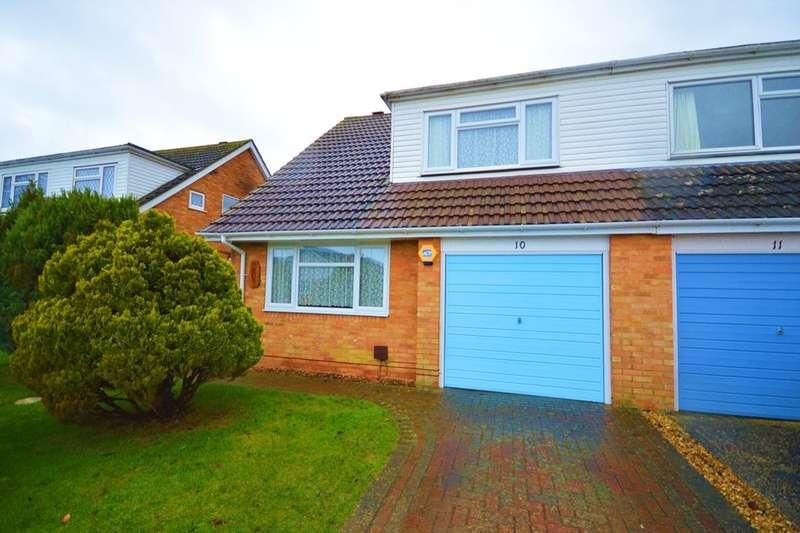 3 Bedrooms Semi Detached House for rent in Anton Close, Oakley, Basingstoke, RG23