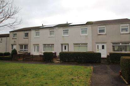 3 Bedrooms Terraced House for sale in Rannoch Place, Irvine, North Ayrshire