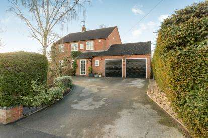 4 Bedrooms Detached House for sale in Old School Lane, Hampton-On-The-Hill, Warwick