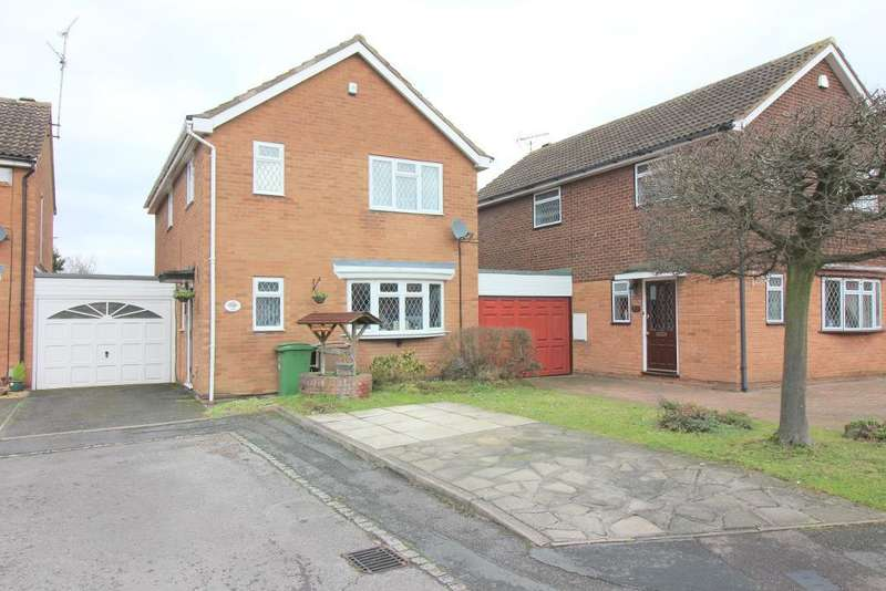 4 Bedrooms Detached House for sale in Blakeney Drive, Luton, Bedfordshire, LU2 7AL