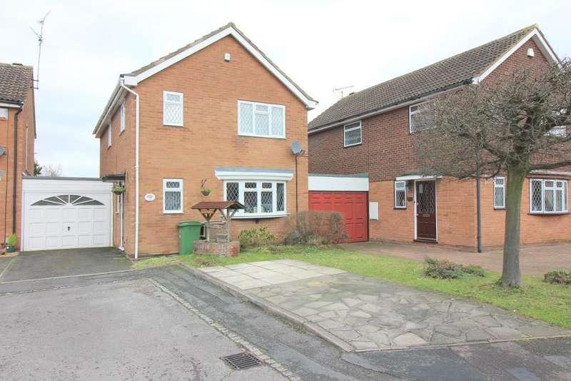 4 Bedrooms Detached House for sale in Blakeney Drive, Luton, Bedfordshire, LU2 7AL