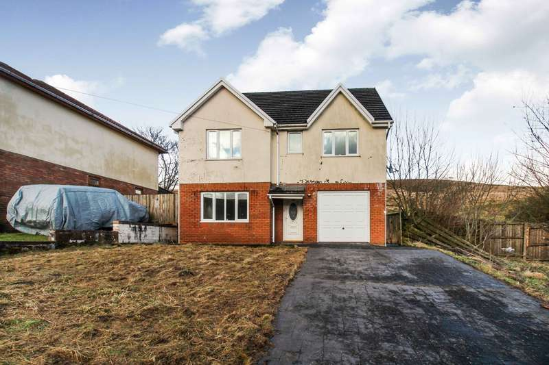 4 Bedrooms Detached House for sale in Carn-Y-Tyla Terrace, Rhymney, Tredegar, NP22