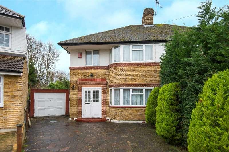 3 Bedrooms Semi Detached House for sale in Cheyneys Avenue, Canons Park, Edgware, HA8