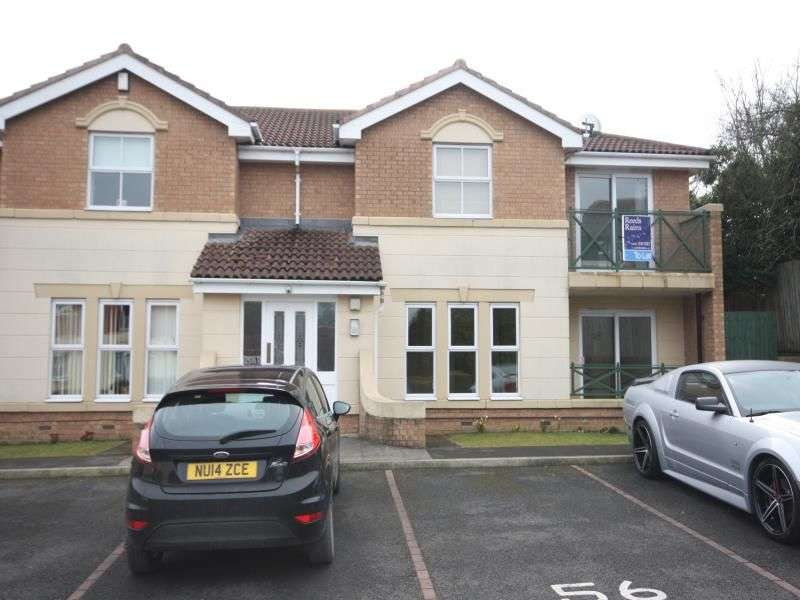 2 Bedrooms Flat for sale in Finchlay Court, Brookfield, Middlesbrough, TS5