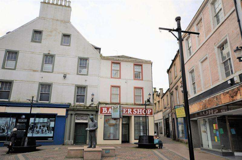 2 Bedrooms Flat for sale in 1B Hope Street, Ayr, KA7 1LT