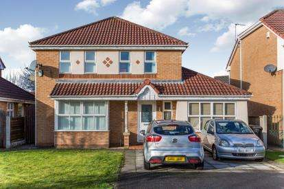 4 Bedrooms Detached House for sale in Nevada Close, Great Sankey, Warrington, Cheshire, WA5