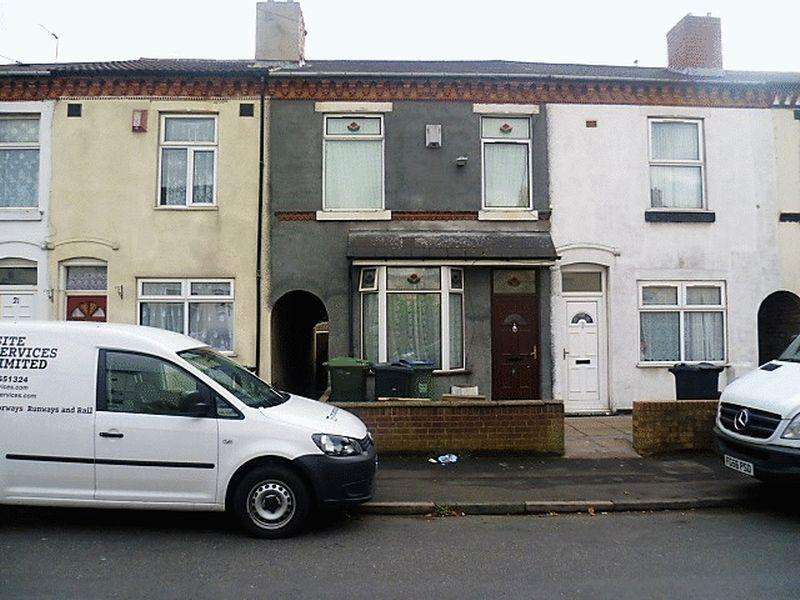 2 Bedrooms Terraced House for sale in Burlington Road, West Bromwich