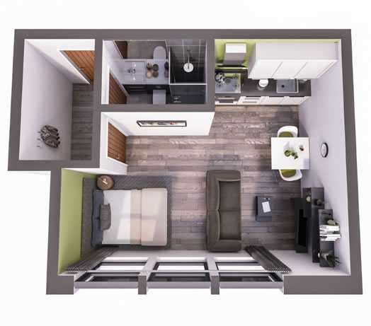 Studio Flat for sale in Well Street, West Yorkshire