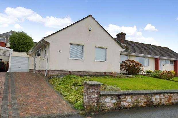 3 Bedrooms Semi Detached Bungalow for sale in Mount Batten Way, Plymstock, Plymouth, Devon