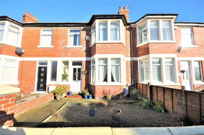 3 Bedrooms Terraced House for sale in Curzon Road, St Anne's, Lytham St Anne's, Lancashire, FY8 3SX