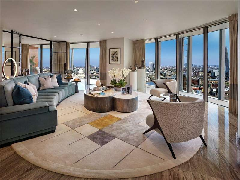 3 Bedrooms Flat for sale in One Blackfriars, London, SE1