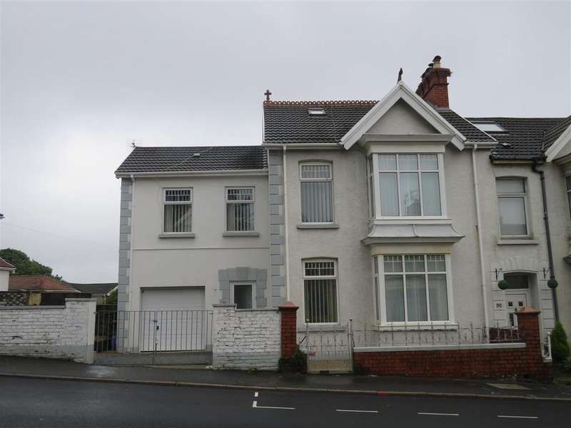 4 Bedrooms End Of Terrace House for sale in Felinfoel Road, Llanelli