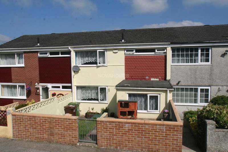 3 Bedrooms Terraced House for sale in Moses Close, Southway, Plymouth, PL6 6JP