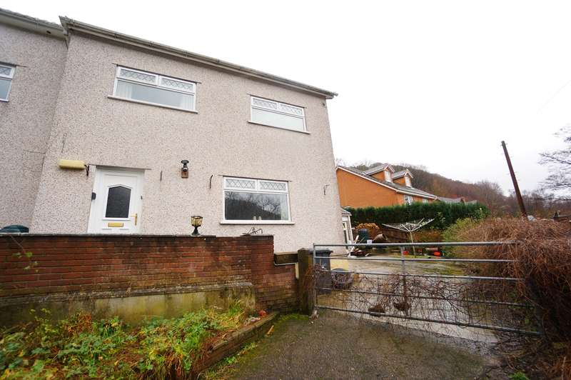 3 Bedrooms End Of Terrace House for sale in Mount Pleasant Terrace, Cross Keys, Newport, NP11