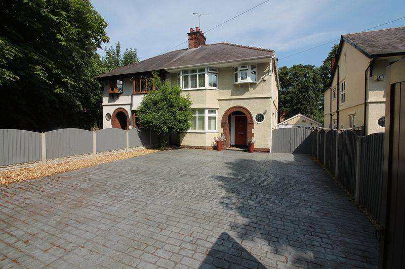4 Bedrooms Semi Detached House for sale in Beresford Road, Oxton