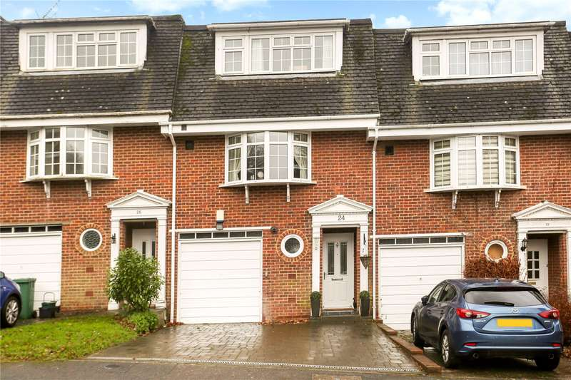 4 Bedrooms Terraced House for sale in Palmer Close, Redhill, Surrey, RH1
