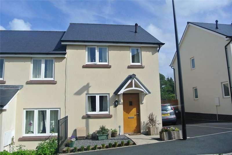 2 Bedrooms Semi Detached House for sale in St. Davids Park, Llanfaes, Brecon, Powys