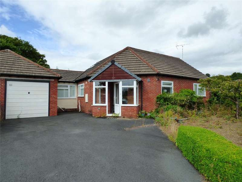 2 Bedrooms Semi Detached Bungalow for sale in Wills View, Norton, Presteigne, Powys