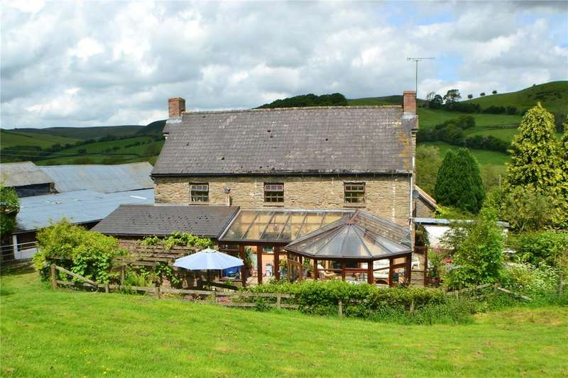 3 Bedrooms Farm Commercial for sale in Rhosgoch, Builth Wells, Powys