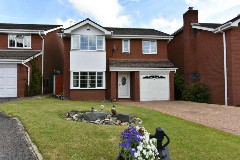 4 Bedrooms Detached House for sale in Mallard Close, Aughton